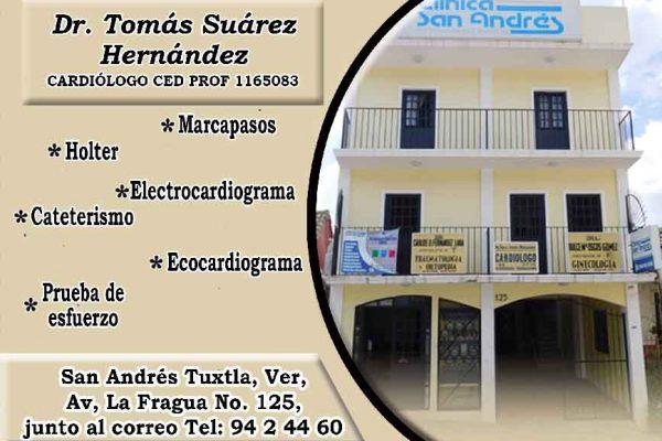 Tomás Suárez permanente