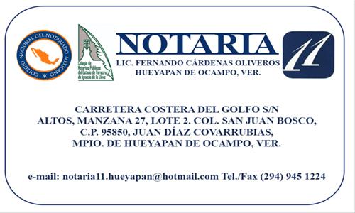 NOTARIA !!
